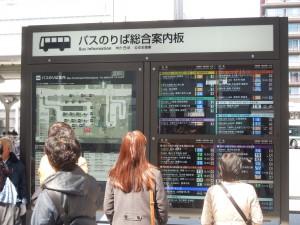 京都駅案内板