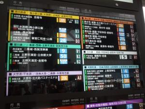 京都駅案内板2