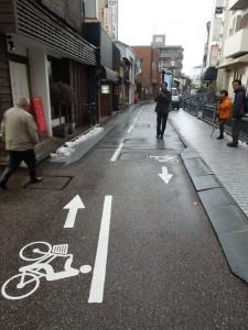 細街路指導帯